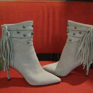 Paige suede boots with studs 9 1/2